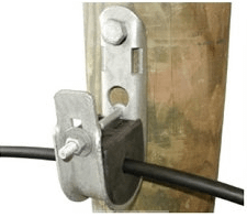Suspension clamp with bolt