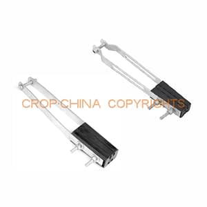 Anchor clamp for overhead line