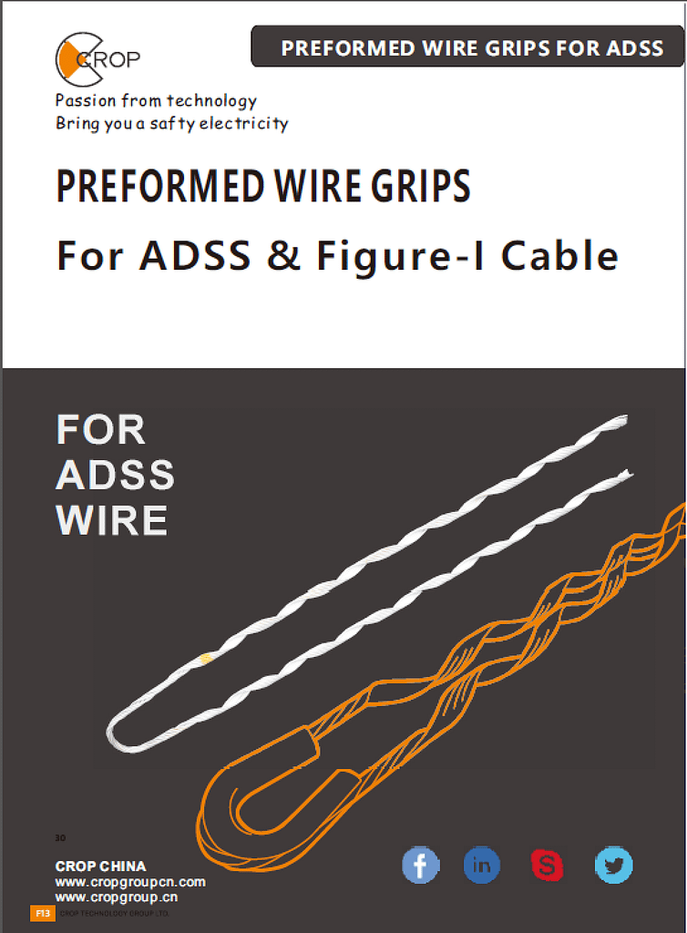 WIRE GRIPS FOR ADSS