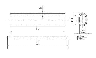 High strength compression splice,compression splice,joint sleeve, splice joint